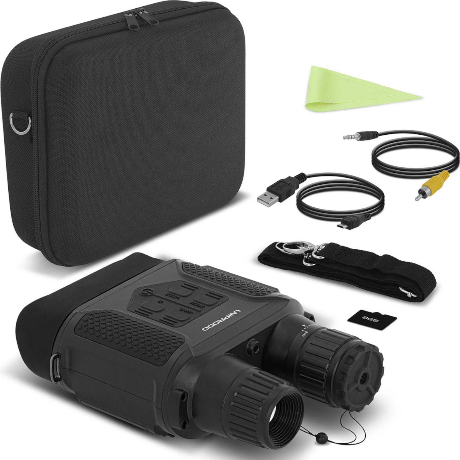 Uniprodo Noktowizor  Noktowizor Do 400M Z Kamerą Cyfrową 7X Lcd Microsd Darmowa dostawa 1010820