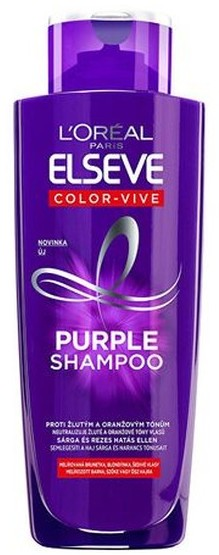 Loreal Elvive Colour Protect Anti-Brassiness Purple szampon do włosów 200ml