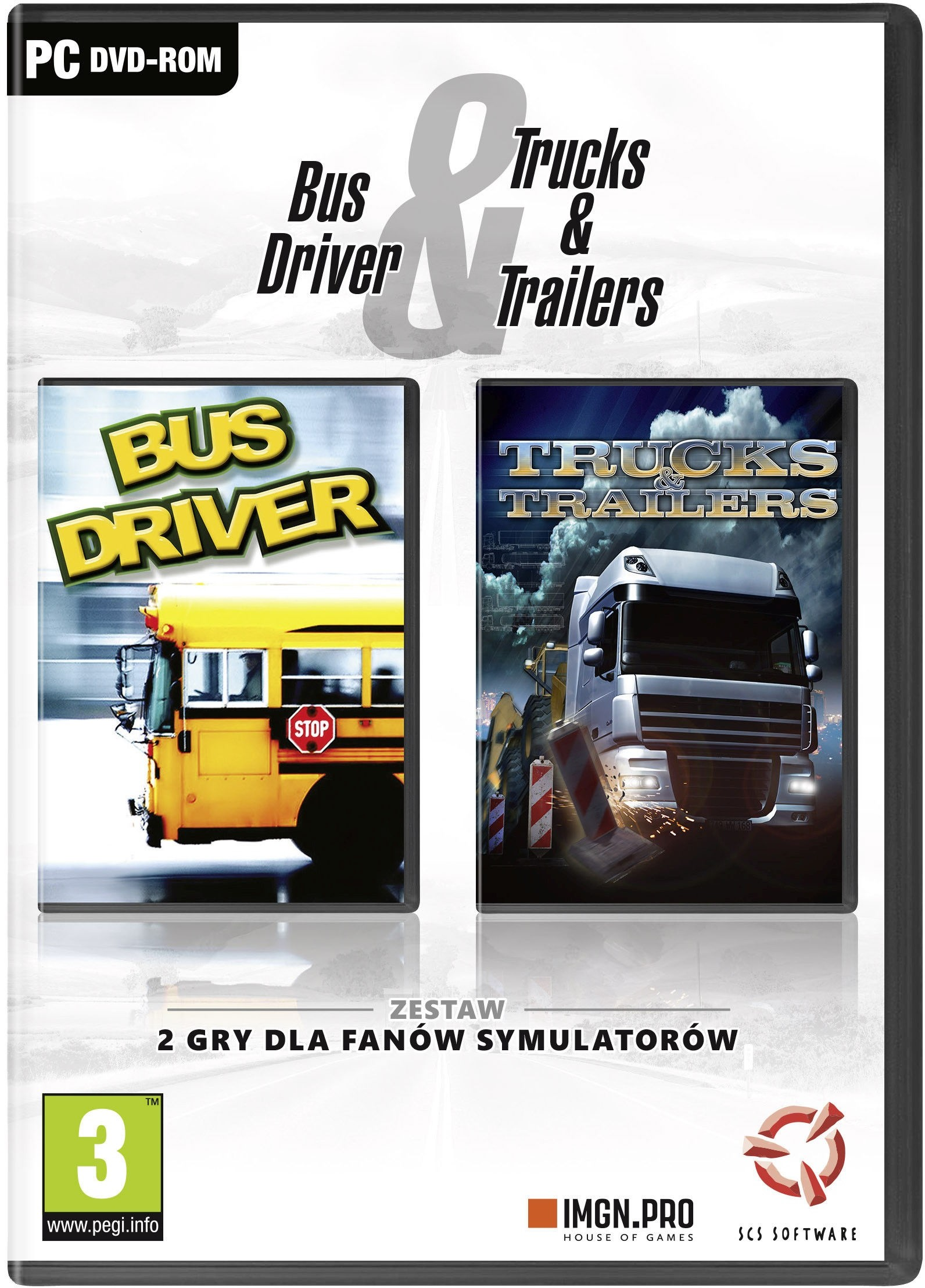Bus Driver & Trucks And Trailers PC