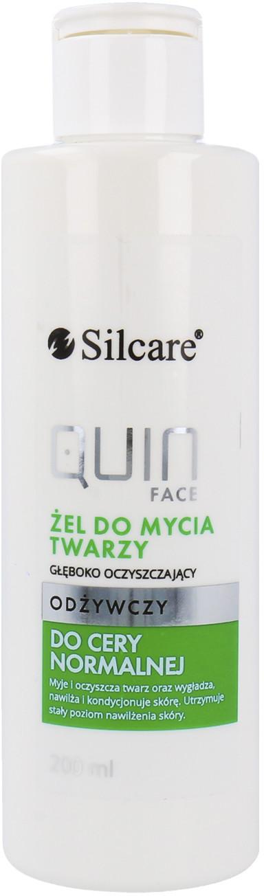 Silcare Silcare Quin Face Żel Do Mycia Twarzy Odżywczy Do Cery Normalnej 200ml