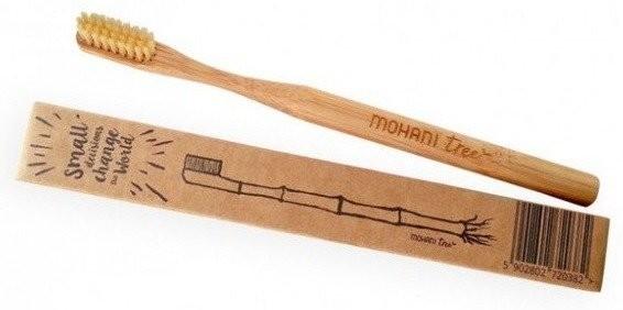 Mohani Mohani Szczoteczka do zębów bambus Naturalna 37503-uniw