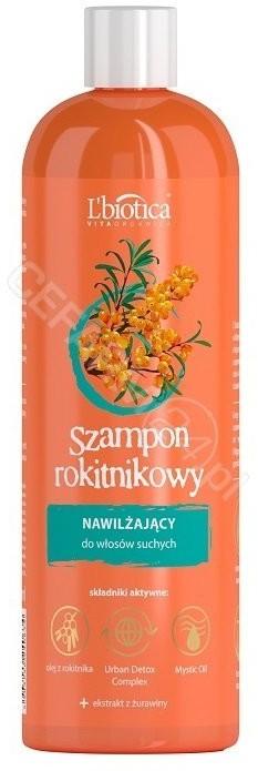 Lbiotica Vita Organica szampon rokitnikowy nawilżający 380 ml