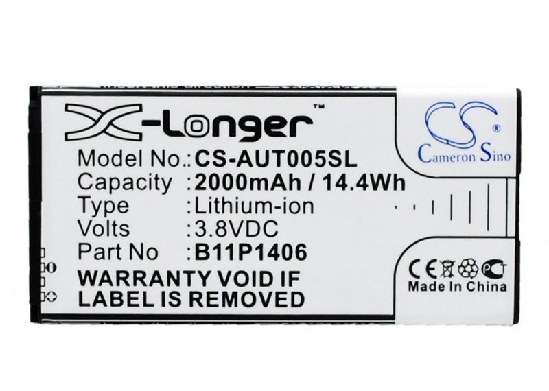 Cameron Sino Asus PadFone X Mini 4.5 B11P1406 2000mAh 7.60Wh Li-ion 3.8V