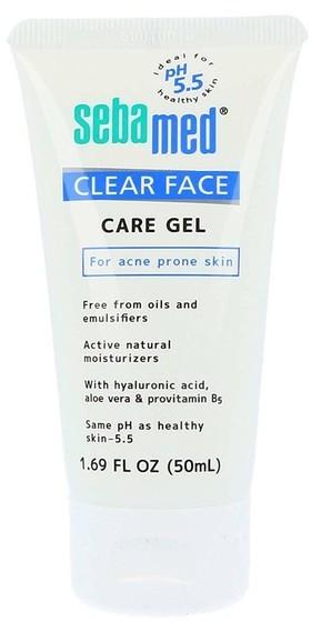 Sebamed Care Gel bezalkaliczny żel do twarzy do skóry z problemami trądzikowymi 50ml