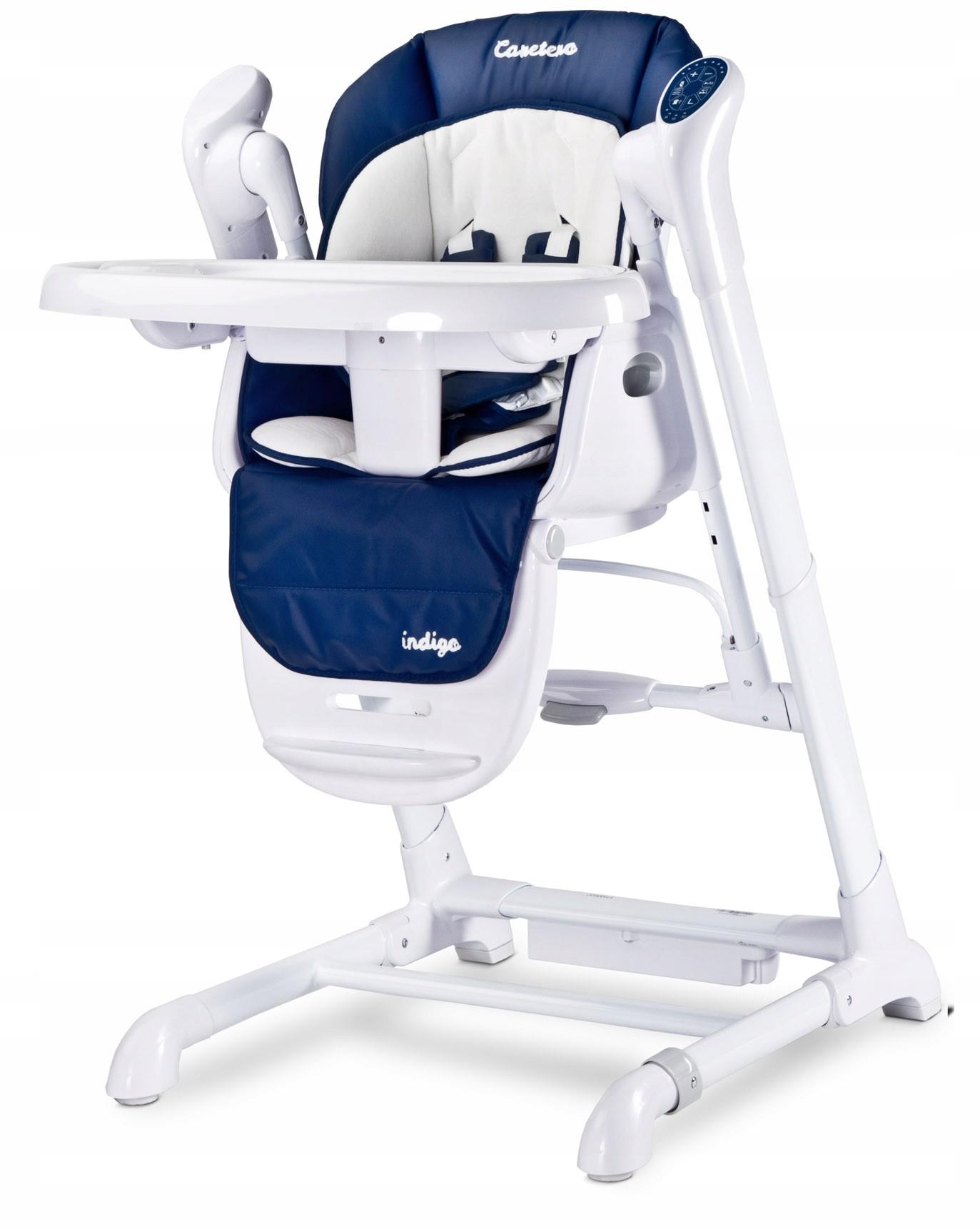 Krzesełko huśtawka 2w1 Indigo navy