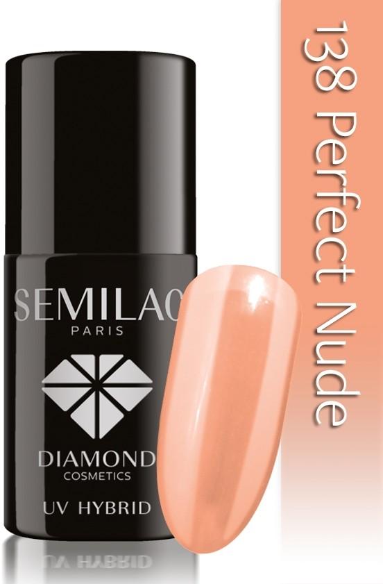 Semilac Lakier Hybrydowy Semilac 138 Perfect Nude - 7 Ml 4831
