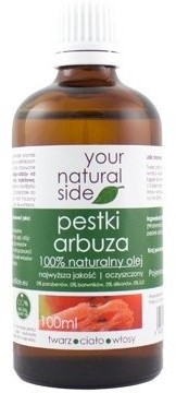 Your Natural Side Olej z pestek Arbuza 100ml