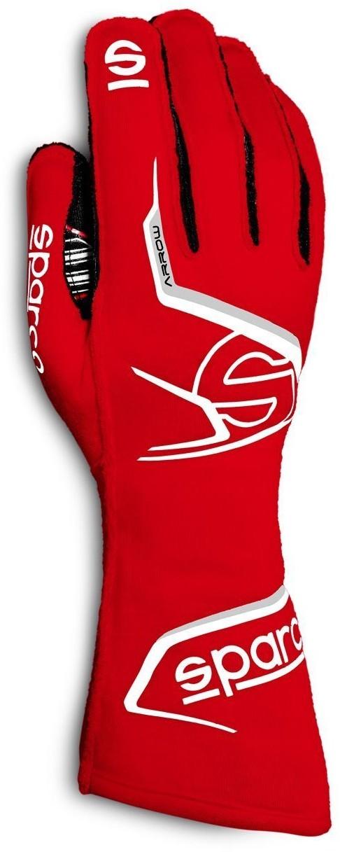 Sparco Rękawice rajdowe ARROW MY20 czerwone (homologacja FIA) 00131407RSNR