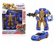 Składany Auto-Robot Transformers Wojownik Blue
