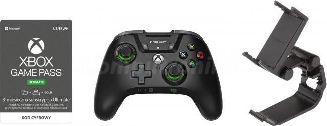 Microsoft Moga X5 czarny + Xbox Game Pass Ultimate (3msc)