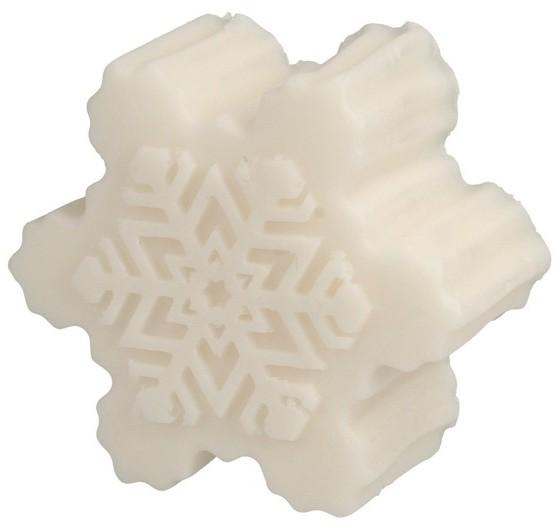 Laq Laq Happy Soaps Mydełko glicerynowe Śnieżynka biała 90g