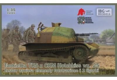 IBG Model plastikowy Tankietka TKS z ckm Hotchkiss wzór 25 DARMOWA DOSTAWA OD 199 ZŁ! GXP-648737