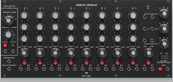 Behringer 960 SEQUENTIAL CONTROLLER Syntezator modularny