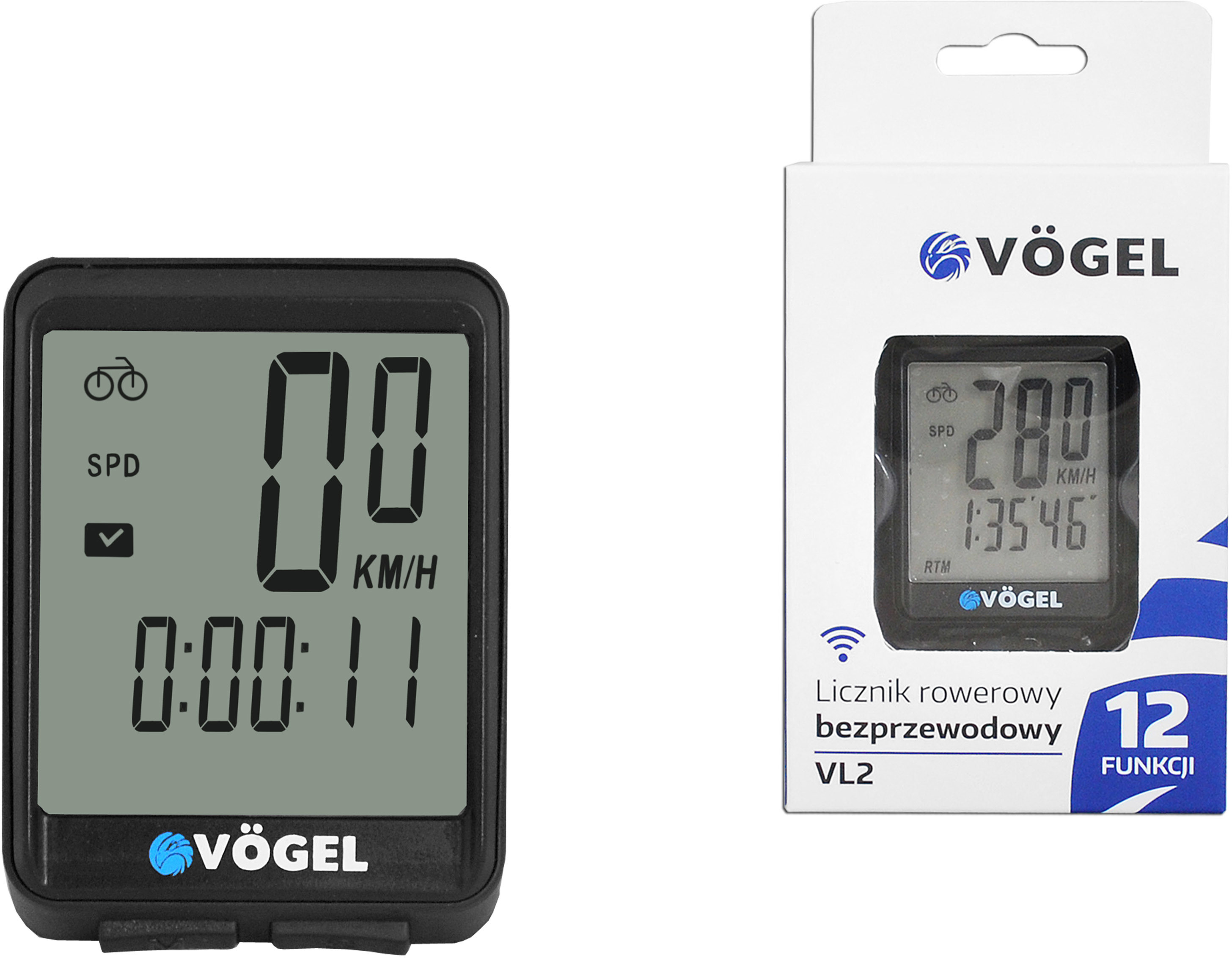 VOGEL VOGEL Licznik rowerowy VOGEL VL2 VL2 VL2
