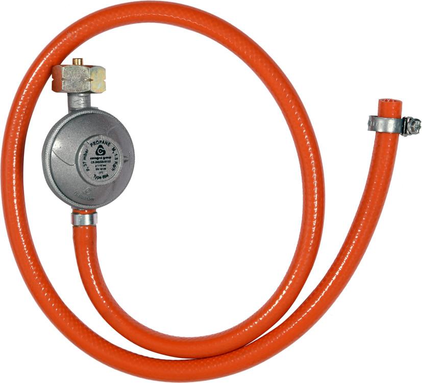 Vorel Reduktor gazowy z wężem 1,0m do podłączenia butli gazowej z grillem kuchenką piecykiem itp 99670 ZYSKAJ RABAT 30 ZŁ 99670