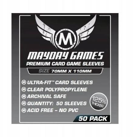 Mayday Games Koszulki Magnum Silver Premium 70x110 mm