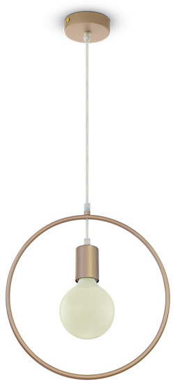 Koło V-TAC lampa wisząca VT-7322 E27 Max 60W złota SKU 3835