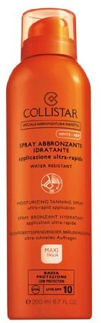 Collistar Colli Star Moisturizing Tanning spf10 ze sprayem 200 ML 1086