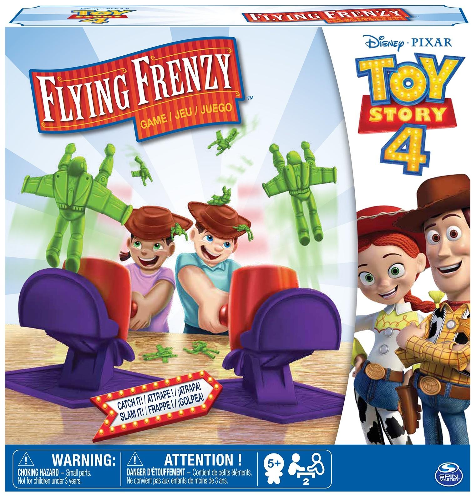 Spin Toy Story 4 Aktywna gra