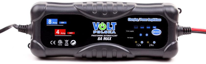 Volt PROSTOWNIK AUTOMATYCZNY 8A 12V/24V 6PRO122408