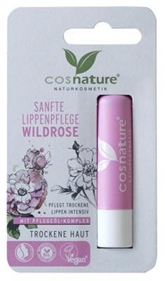 cosnature Naturalny ochronny balsam do ust z olejkiem z dzikiej róży 4,8g Cosnature