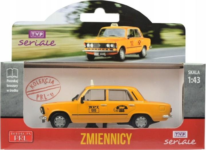 Model Fiat 125p Taxi 1313 Zmiennicy Metal Prl 1:43