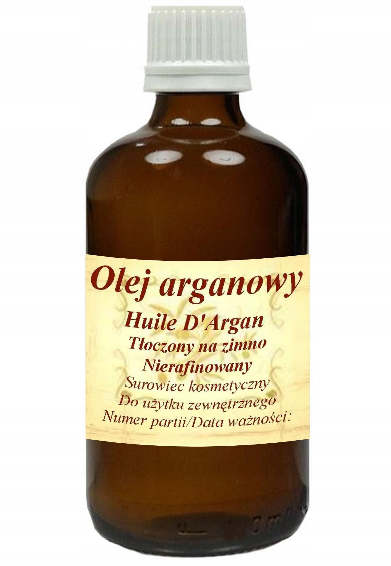 Olej Arganowy 200ml - zimnotłoczony, nierafinowany