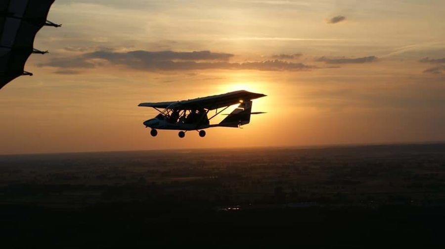 Lot widokowy samolotem Zielona Góra-30 minut LSUZG30