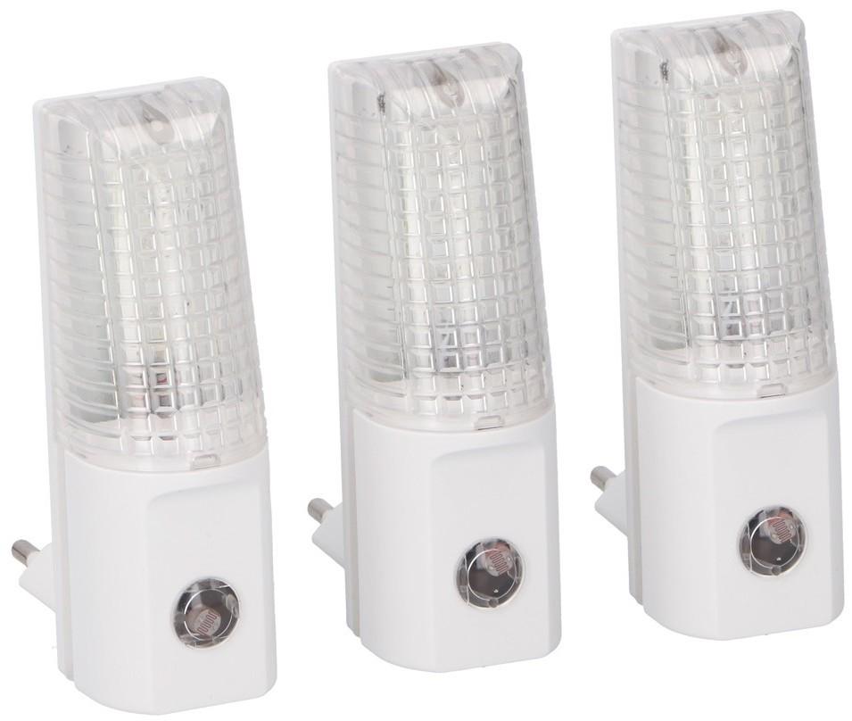 Grundig Grundig 99  ZESTAW 3x LED Nocne światełko do gniazdka 3xLED/0,5W/230V