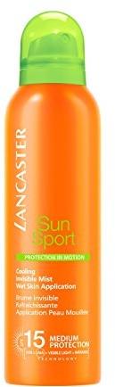 Lancaster SUN Care Sun SportProtection in MotionWet Skin Cooling Mist LSF 15ochrona przed słońcem Spray z LSF 15200ML 40777313000