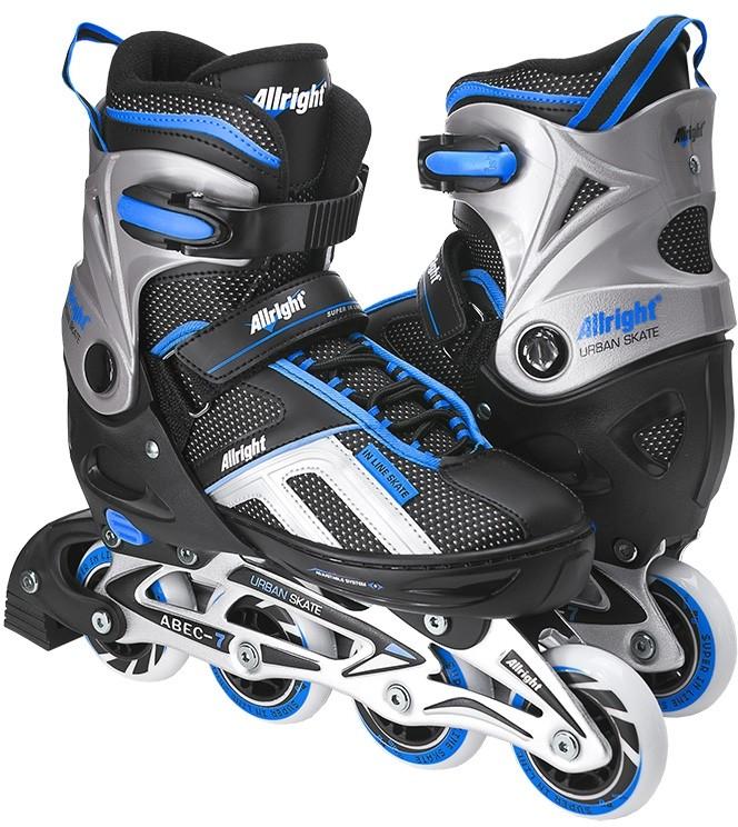 Blackwheels Allright Urban Skate czarno-niebieski