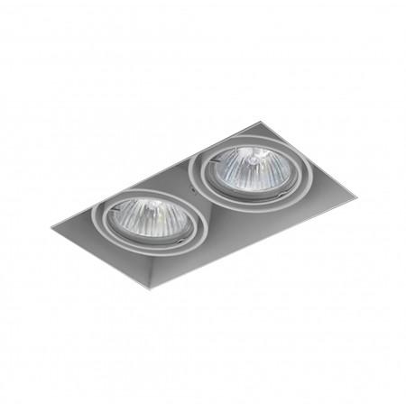 Aqform SQUARES 50x2 trimless 230V Phase-Control wpuszczany biały 37012-0000-U8-PH-03 37012-0000-U8-PH-03