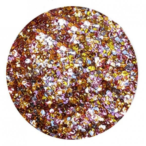 Vanity Brokat Multicolor Hexagon Exclusive 05