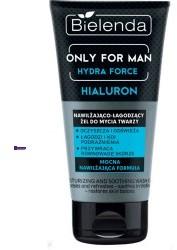Bielenda Only For Man Hydra Force M) nawilżająco-łagodzący żel do mycia twarzy 150ml