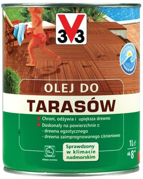 V33 Olej do taras?w drewnianych bezbarwny 1 l