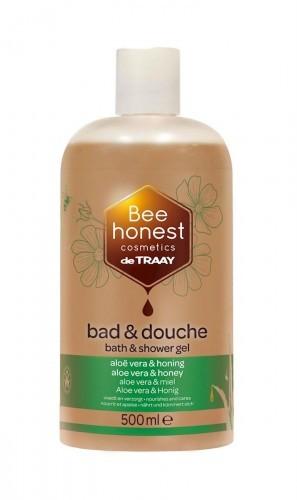 BEE HONEST (kosmetyki) ŻEL POD PRYSZNIC I DO KĄPIELI ODŻYWIAJĄCY ALOES I