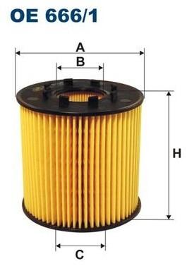 FILTRON OE 666/2 - Filtr oleju OE 666/2 - Opel Vivaro 2.0CDTi; Renault Lag