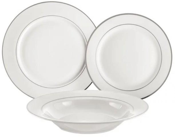 Ambition Aura 23069 zestaw obiadowy silver
