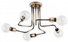 LEMIR Pixi lampa wisząca 5-punktowa O2745 W5 PAT
