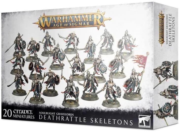 Games Workshop Deathrattle Skeletons (99120207091) 91-42