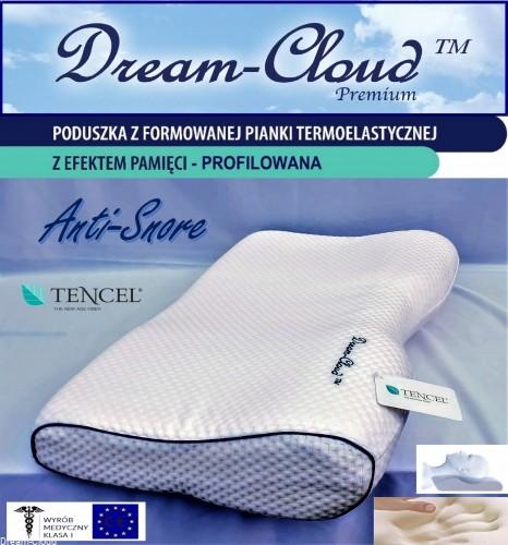 Dream-Cloud Poduszka przeciw Chrapaniu Dream-Cloud Premium 55x32x11/6cm DCASM1