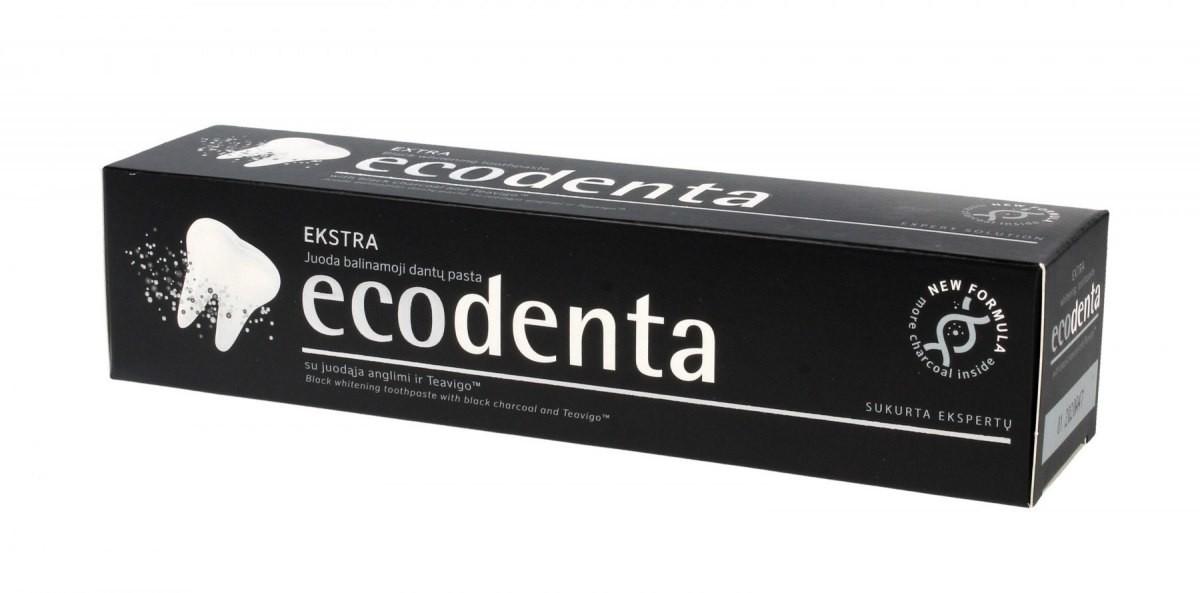 ECODENT ECODENTA Pasta do zębów wybielająca z czarnym węglem Extra 100ml
