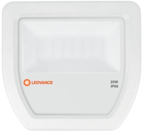 Ledvance ospel Naświetlacz LED Floodlight 20W/6500K b.zimna 2200lm IP65 White OSRAM - 4058075097544