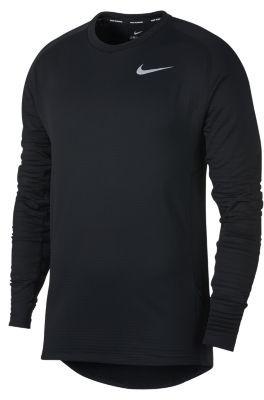 Nike Męska koszulka z długim rękawem do biegania Therma Sphere Element - Czerń 857827-011