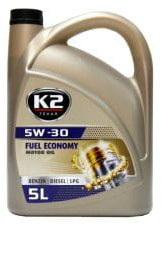 K2 5W30 Fuel Economy 5L