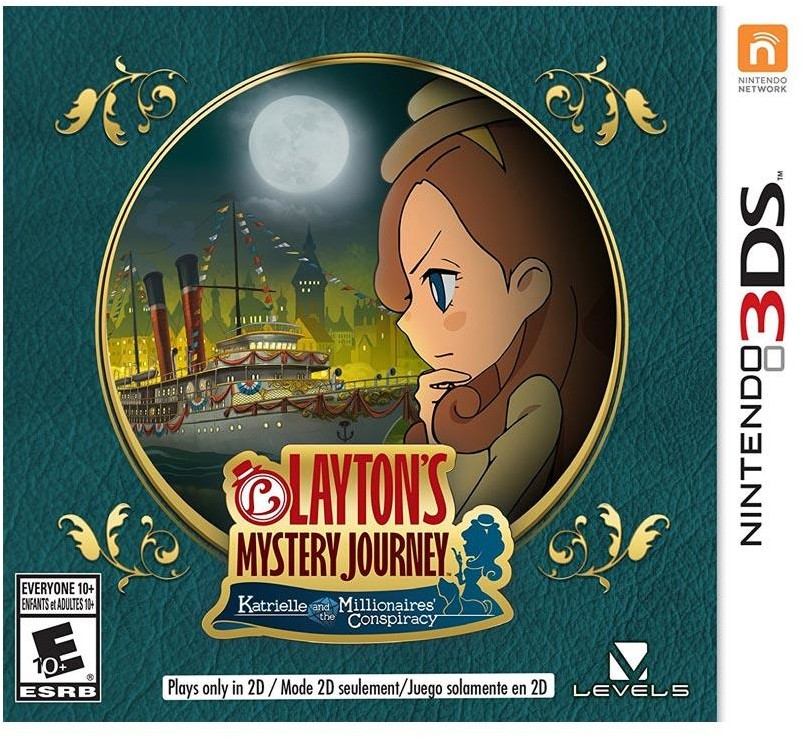 Laytons Mystery Journey 3DS