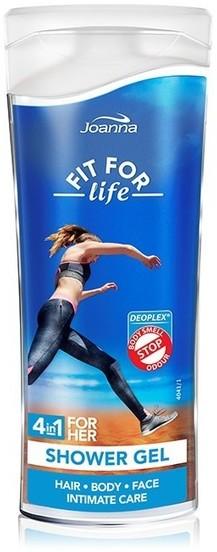 Joanna Fit for Life Żel pod prysznic 4w1 dla kobiet wersja travel 100ml
