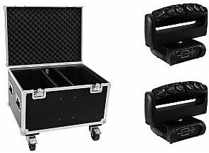 FUTURELIGHT Zestaw 2x Wave LED Moving Bar + Case 20000235