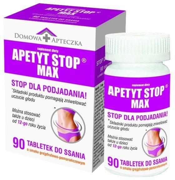 Domowa Apteczka Sp z o.o Sp k Apetyt Stop Max 90 tabletek do ssania