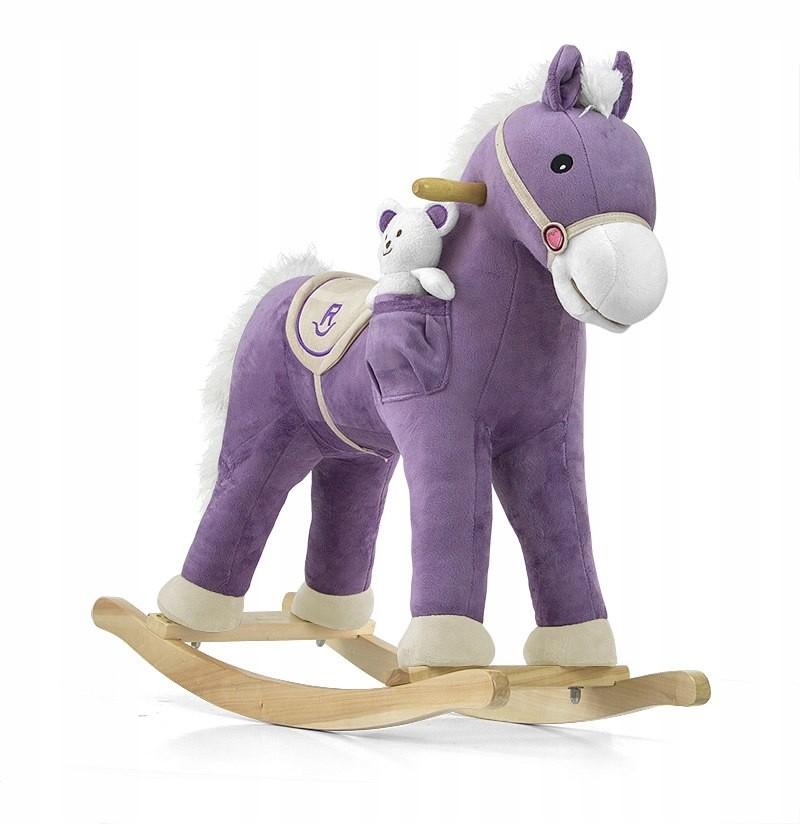 Milly Mally Konik Na Biegunach Koń Pony Fioletowy